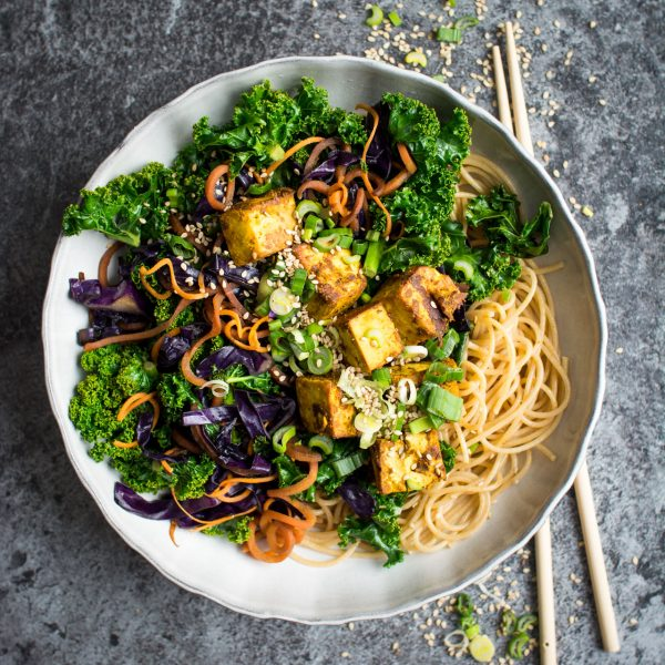 Five Spice Tofu and Noodles